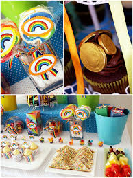 Rainbow Party Decorations A Colorful Rainbow Party And Diy Desserts Table Party Ideas