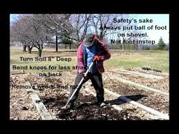 vegetable garden soil preparation youtube