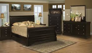 stratford black cherry bedroom furniture collection for 139 94