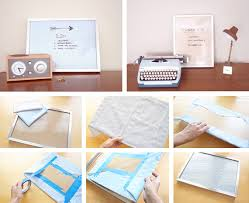 dry erase board in crafts for decorating and home decor parties