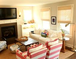 ideas fireplace furniture furniture placement in narrow living