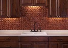 kitchen copper backsplash kitchen with wooden cabinets and copper backsplash kitchen