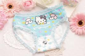 cheap fashion baby kitty underwear cotton