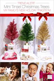trend alert mini christmas trees u2014our new family tradition