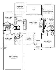 3 bedroom open floor plan an elegant single story 3 bedroom 2 5