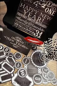 new year s party favors new years chalkboard free printables party printables free and