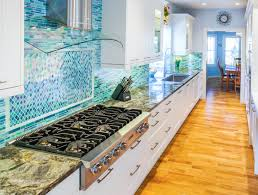 Light Blue Backsplash by Kitchen Style Cottage Style Kitchen Backsplash Ideas Beach