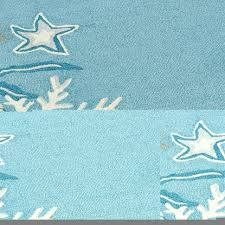 Starfish Home Decor Coffee Tables Seashell Area Rugs Sea Star Rug Starfish Bathroom
