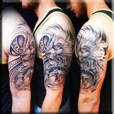 biomechanical tattoo by greg at the studio downtown custom tattoos