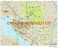 Map San Diego Royalty Free San Diego Illustrator Vector Format City Map