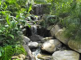 Rock Garden Waterfall Garcia Rock And Water Design A Tropical Garden Waterfall