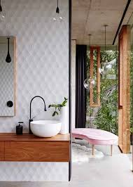 20 bathroom trends that will be huge in 2017 brit co planchonella house jesse bennett architect yellowtrace 15