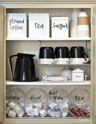 Coffee Bar Cabinet Coffee Bar Ideas How To Make A Coffee Bar At Home
