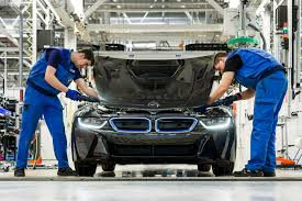 bmw car maker production process of bmw i8