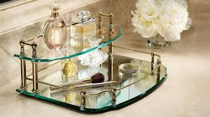 Bathroom Counter Shelf Bathroom Vanity Organizer Victoriaentrelassombras Com