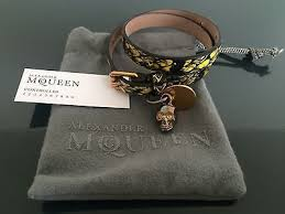 leather bracelet with skull charm images 487 best alexander mcqueen images skull sugar jpg