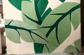 Tropical Print Area Rugs Vintage Stark Carpet Tropical Print Area Rug At 1stdibs