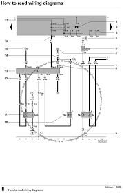 how to read wiring diagrams touareg touareg 2 tech bentley