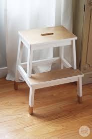 home design freckles spruced up step stool ikea bekvam