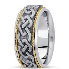 Celtic Wedding Rings by Unisex Celtic Wedding Ringsuug Hm210