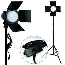 Photography Lighting 900w Led Photo Studio Lighting Photography Barndoor Light Boom Arm