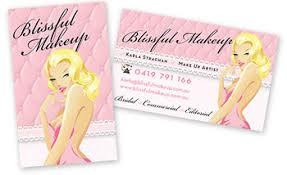 Makeup Business Cards Designs Boutique Beautiful Custom Business Card Design Portfolio