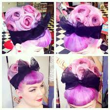 pinup clip in ponytail with bangs 286 best pin up rockabilly hair images on pinterest hair dos