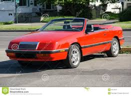 chrysler lebaron chrysler lebaron convertible stock image image 5617975