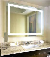 bathroom mirrors with lights behind mirror with led behind mirror