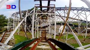 Lights On The Lake Lakemont Park Leap The Dips 3d Front Seat On Ride Hd Pov Lakemont Park Youtube