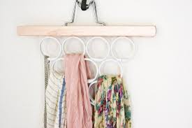 10 space saving tips for the with too many scarves brit co