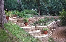 Backyard Retaining Wall Ideas Impressive Garden Retaining Wall Design Garden Retaining Wall