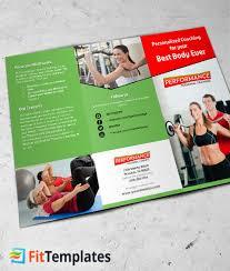 2 fold brochure template personal tri fold brochure template