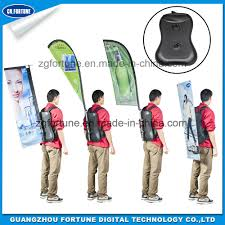 Custom Feather Flags China Various Shape Custom Advertising Backpack Feather Flags