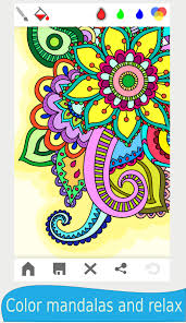 mandala coloring book adults android apps google play