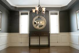 dining room chair rail ideas chair rail applique columns traditional dining room ottawa
