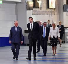 prince charles and camilla duchess of cornwall visit manchester arena