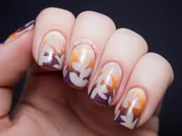 dress up your hands for thanksgiving with 13 fun fall nail art