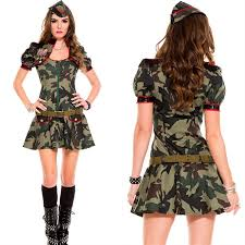 Army Costume Halloween Compare Prices Woman Army Costumes Shopping Buy