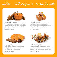 Fall Scents Airmoji Fall Fragrance Descriptions Https Www Mojiproducts Com
