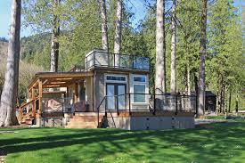 wraparound deck san juan unit 82 park models west coast homes
