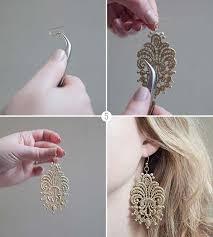 earrings diy 42 fabulous diy earrings you can make for next to nothing diy
