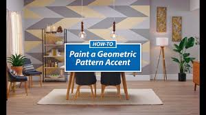 ask sw how to paint a geometric pattern sherwin williams youtube
