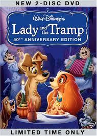 amazon lady tramp disc 50th anniversary platinum