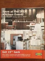 when is the ikea kitchen sale ikea kitchen sale 20 in gift cards or money back