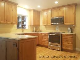 country kitchen rustic alder cabinets natural finish chocolate
