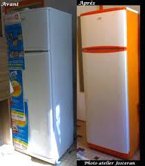 frigo pour chambre peinture frigo diy pour frigo avec rayures doraces peinture frigo