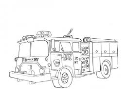 free fire truck coloring pages print fire engine