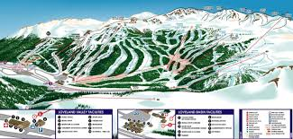 Colorado Trail Maps by Loveland Ski Area Trail Map And Info