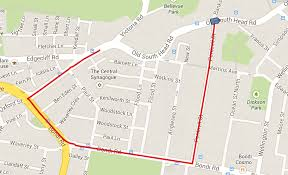 Google Maps Walking Directions Compute Path Between 2 Points With Google Map Direction Service